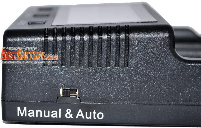 Зарядное устройство Vapcell S4 Plus автоматический и ручной режимы работы.
