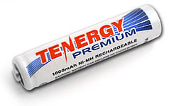Tenergy Premium 1000 mAh