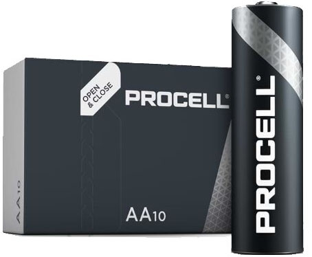 Duracell Procell Alkaline AA LR6 1.5V - профессиональная серия пальчиковых батареек.