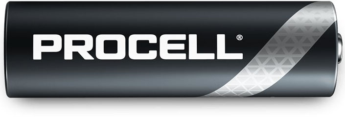 Батарейки Duracell Procell AA Alkaline пальчиковые.